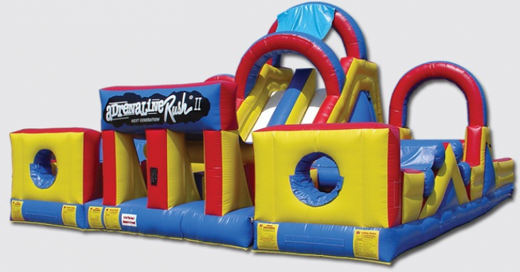 Obstacle Courses and Interactive Games