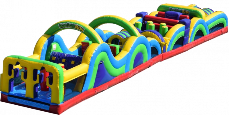 65 ft Radical Run Obstacle Course