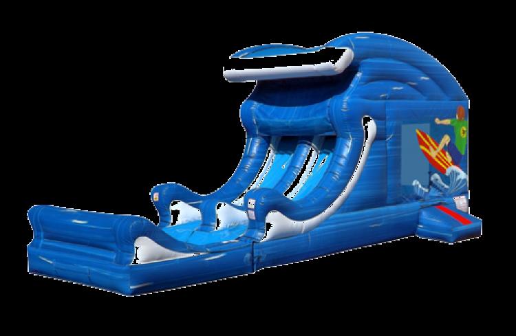 Tidal Wave-Wet